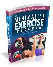 the minimalist exercise program cover small