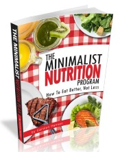 the minimalist nutrition program cover small