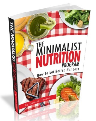 the minimalist nutrition program cover medium